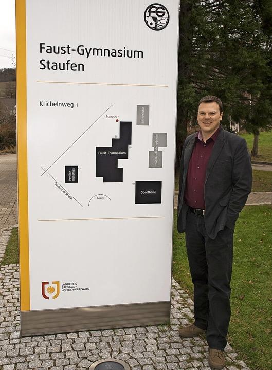 Der Schulleiter des Faust-Gymnasiums, Jürgen Gutgsell   | Foto: Rainer Ruther