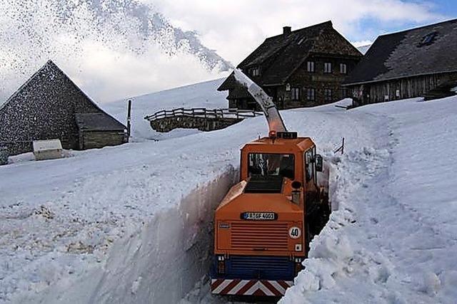 Schneeschleuder Supra bleibt Teil der Winterflotte