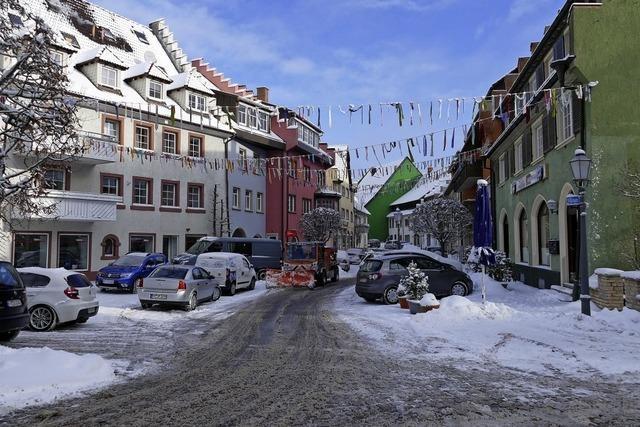 Einbahnregelung in der Kirchstraße