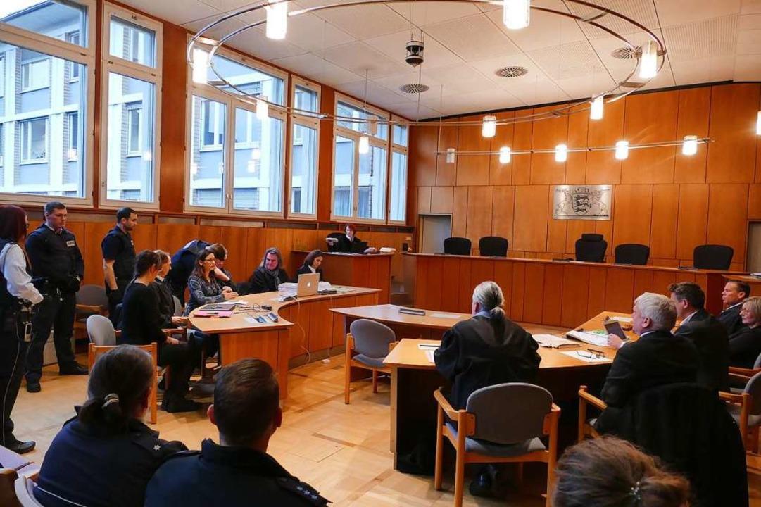 Prozessbeginn in Offenburg vor dem Lan...ingkreisel ein Ehrenmord oder Notwehr?