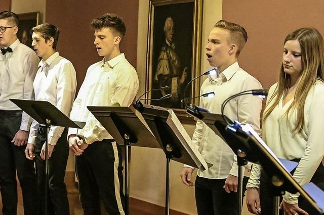 Konzert von Musikschülern der Heimschule