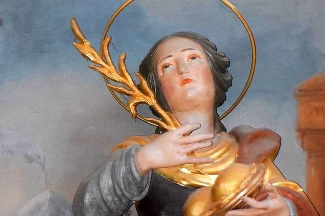 Die heilige Agatha ist ein Symbol weiblicher Selbstbestimmung