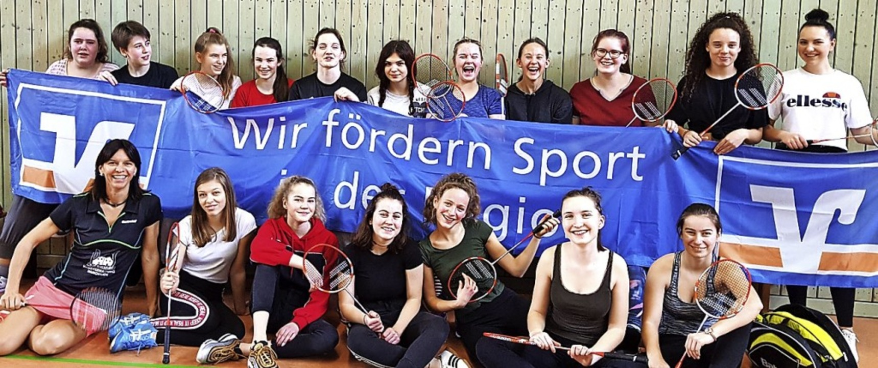 Freie Waldorfschule: Badminton-Meister...erinnen der Waldorfschule Schopfheim.   | Foto: Waldorfschule