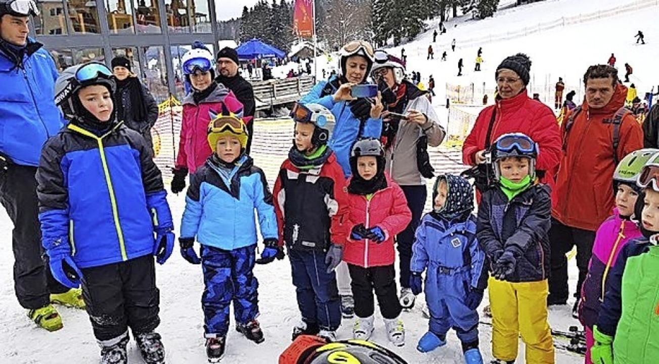 34 Teilnehmer machten beim Skikurs am Feldberg mit.   | Foto: SCZ