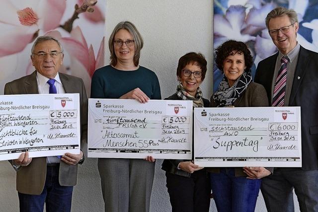 110 000 Euro für soziale Projekte