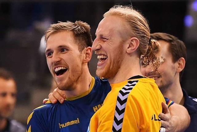 Deutsche Handballer verlieren All-Star-Game in Stuttgart – mit richtig guter Laune