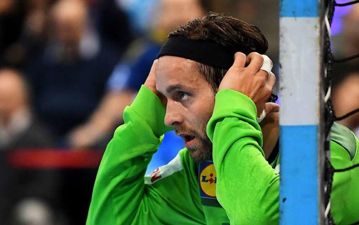 Deutsche Handballer verlieren All-Star-Game in Stuttgart  | Foto: dpa