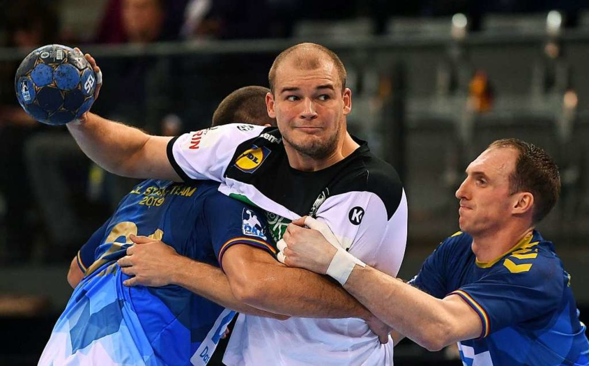 Deutsche Handballer verlieren All-Star-Game in Stuttgart – gut gelaunt  | Foto: dpa