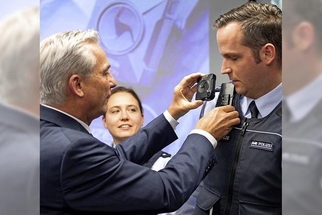 Bodycams für Polizisten
