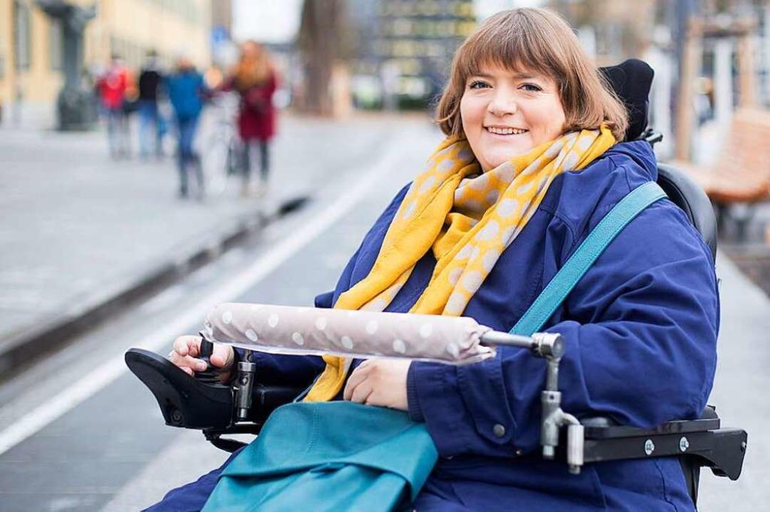 Sarah Baumgart, Behindertenbeauftragte der Stadt Freiburg    Foto: privat