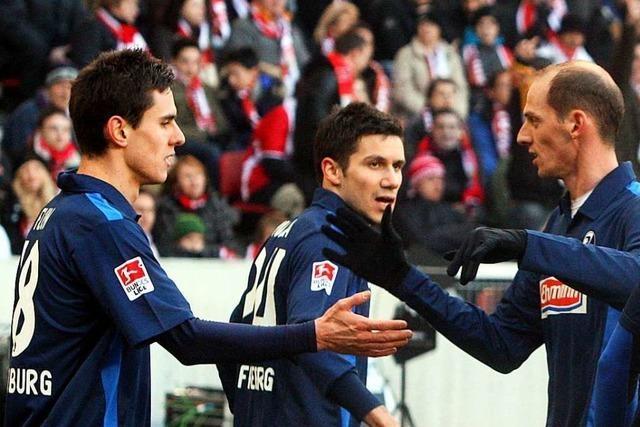 Die Bilanz des SC Freiburg beim VfB Stuttgart ist niederschmetternd