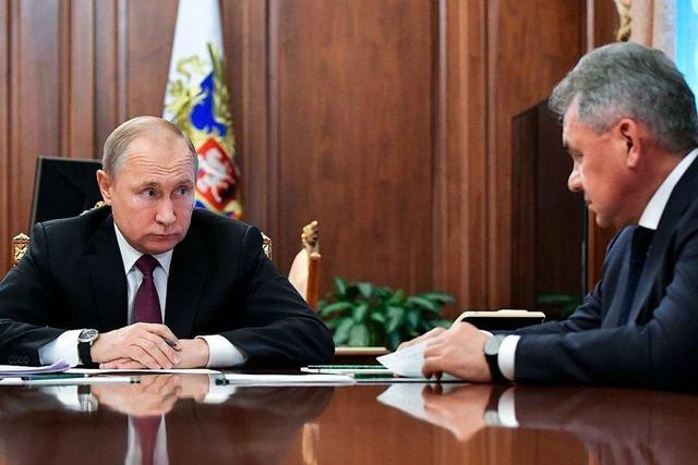 Russland setzt INF-Abrüstungsvertrag nach US-Ausstieg ebenfalls aus
