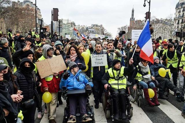 In Paris demonstrierten die