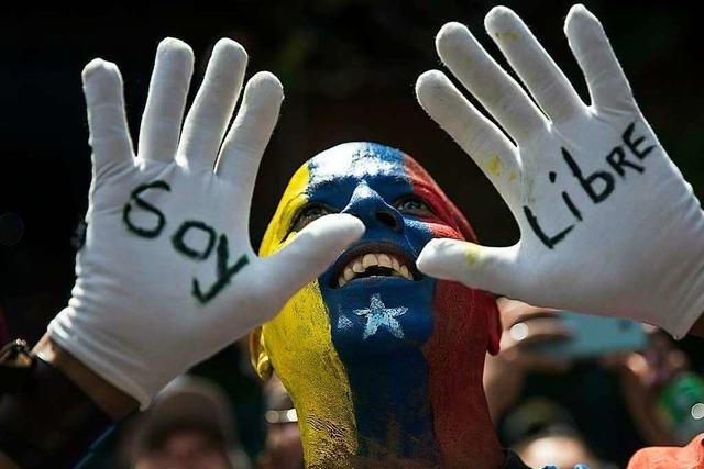 Der Machtkampf in Venezuela mobilisiert die Massen