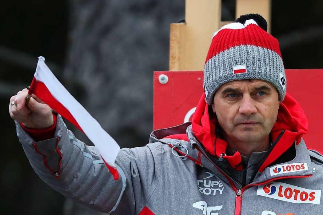 Stefan Horngachers Vertrag als Cheftra...ischen Teams läuft zum Saisonende aus.  | Foto: dpa