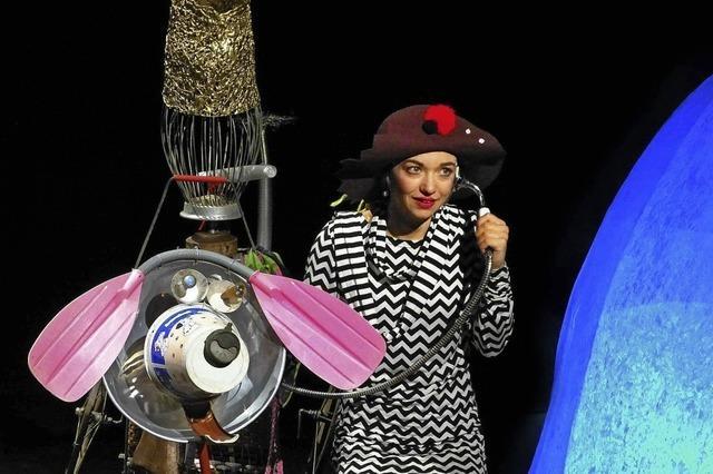 Filipa unterwegs, inszeniert vom Baal Novo Theater