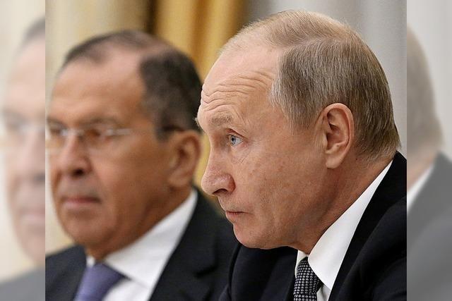 Jetzt setzt auch Russland den Abrüstungsvertrag aus
