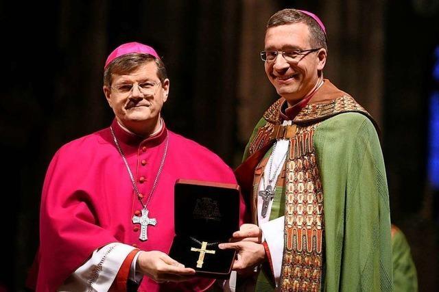 Weihbischof Michael Gerber wurde feierlich verabschiedet