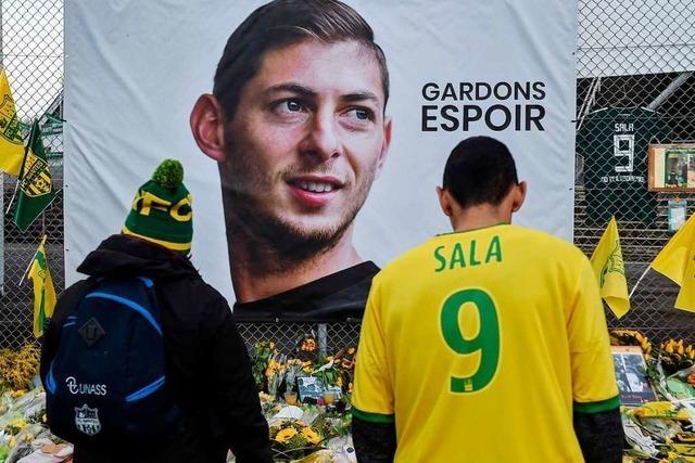 Abgestürztes Flugzeug von vermisstem Fußballer Sala entdeckt