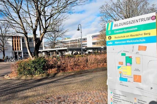 Erasmus-Gymnasium und die künftige Verbundschule in Denzlingen werben gemeinsam um Schüler