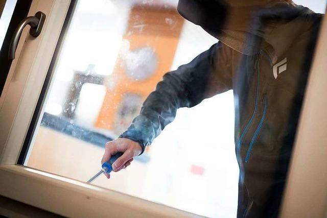 Einbrecher in mehreren Wohnungen im Stadtgebiet