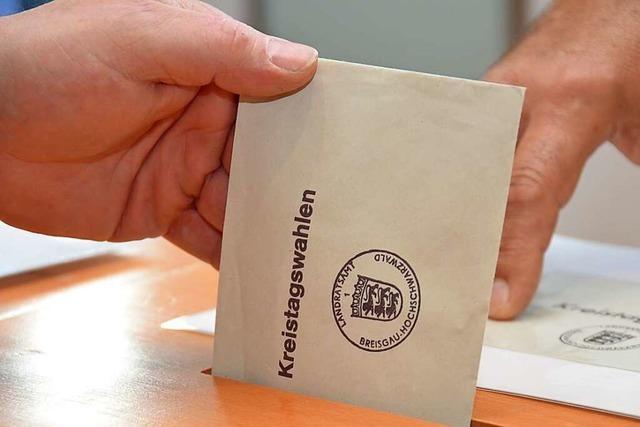 34 von 48 Bürgermeistern wollen in den Kreistag Breisgau-Hochschwarzwald