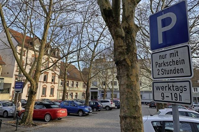 Gerichtsparkplatz soll im Leitsystem angezeigt werden