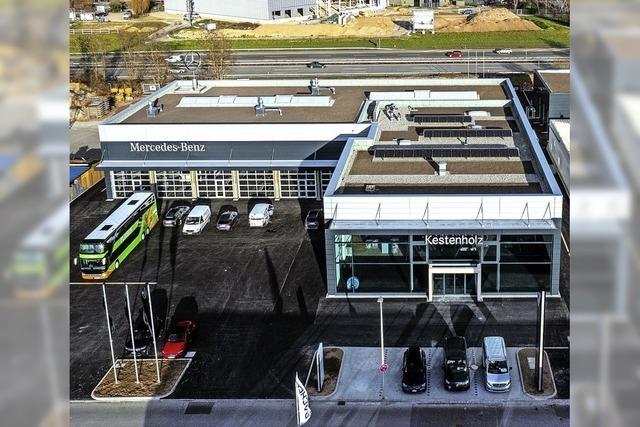 Kestenholz eröffnet Mercedes-Center