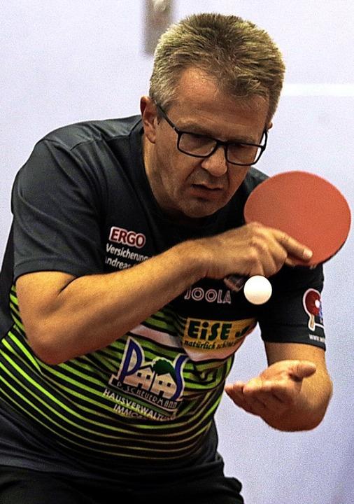 <BZ-FotoAnlauf>Tischtennis:</BZ-FotoAn... Eise blieb in Auggen ohne Niederlage.  | Foto: zok