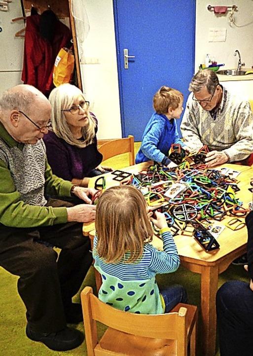 <BZ-FotoAnlauf>Fröbelkinder:</BZ-FotoA...hatte  wieder der Fröbelkindergarten.   | Foto: kindergarten
