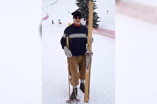 Sekt und Torten für die Slalomfahrer