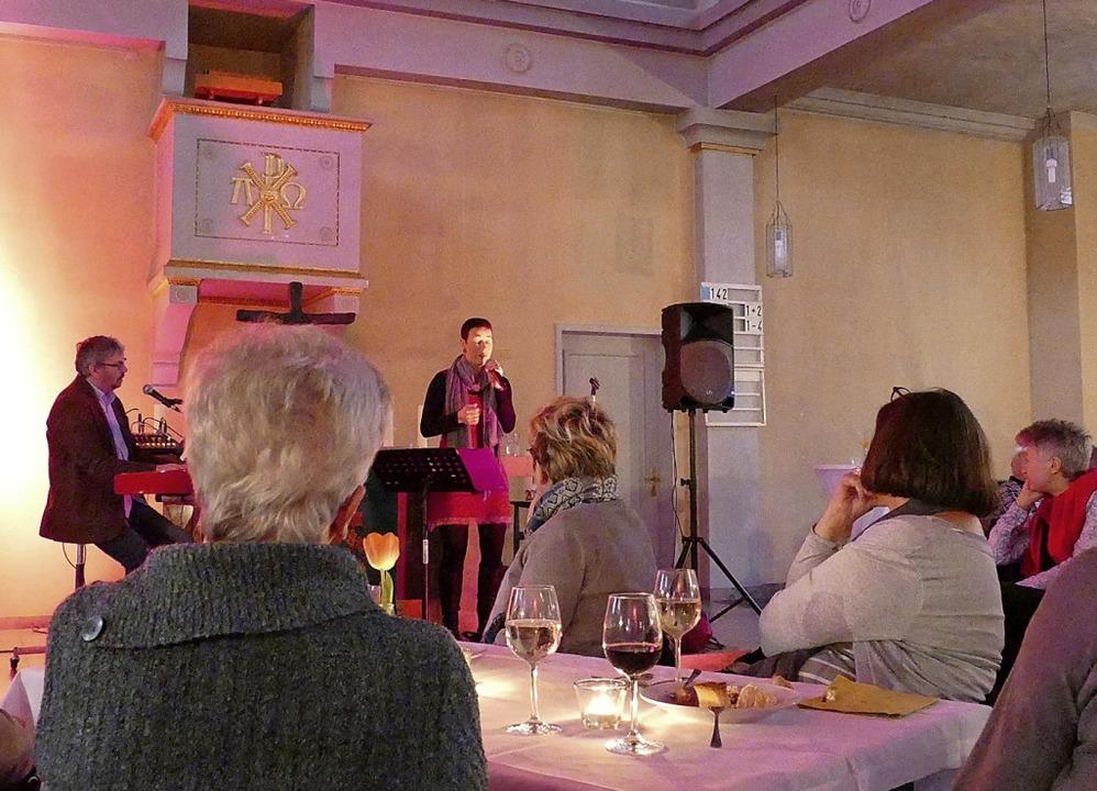 Konzert und Dinner in der Stadtkirche   | Foto: Martina David-Wenk