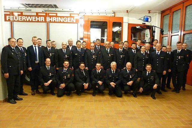 Ihringer Feuerwehr zieht eine positive Bilanz