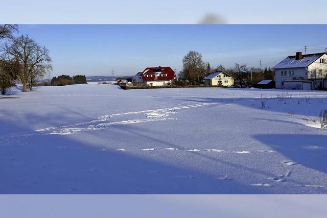 Gemeinde plant Wohngebiet in attraktiver Lage