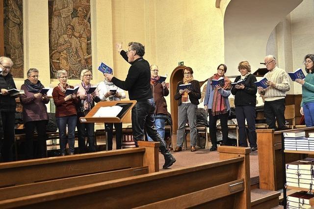 Neue Lieder bereichern die Gottesdienste