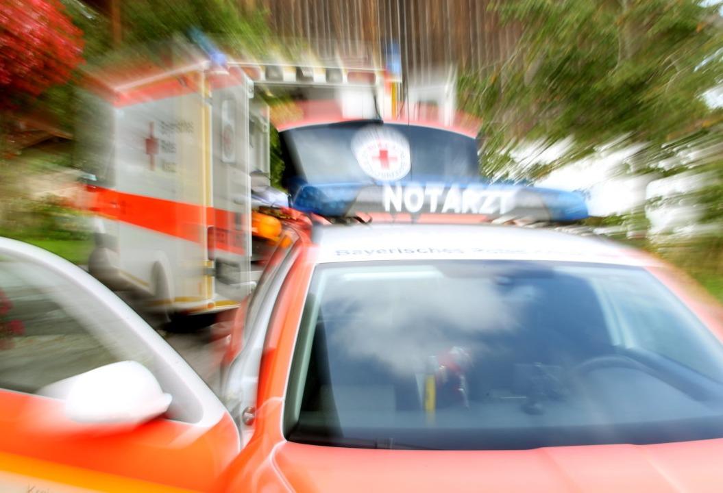 Zu einem außergewöhnlichen Vorfall ist...gsdienst samt Notarzt schützen musste.  | Foto: dpa