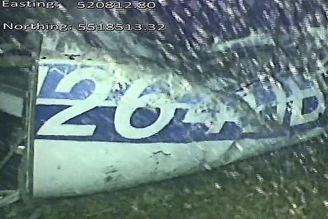 Salas Flugzeug im Ärmelkanal entdeckt