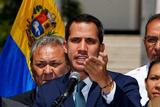 Krise in Venezuela: Peinlich, peinlicher, EU