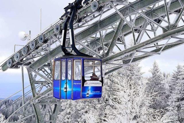 Die Schauinslandbahn soll eine barrierefreie Aussichtsplattform bekommen