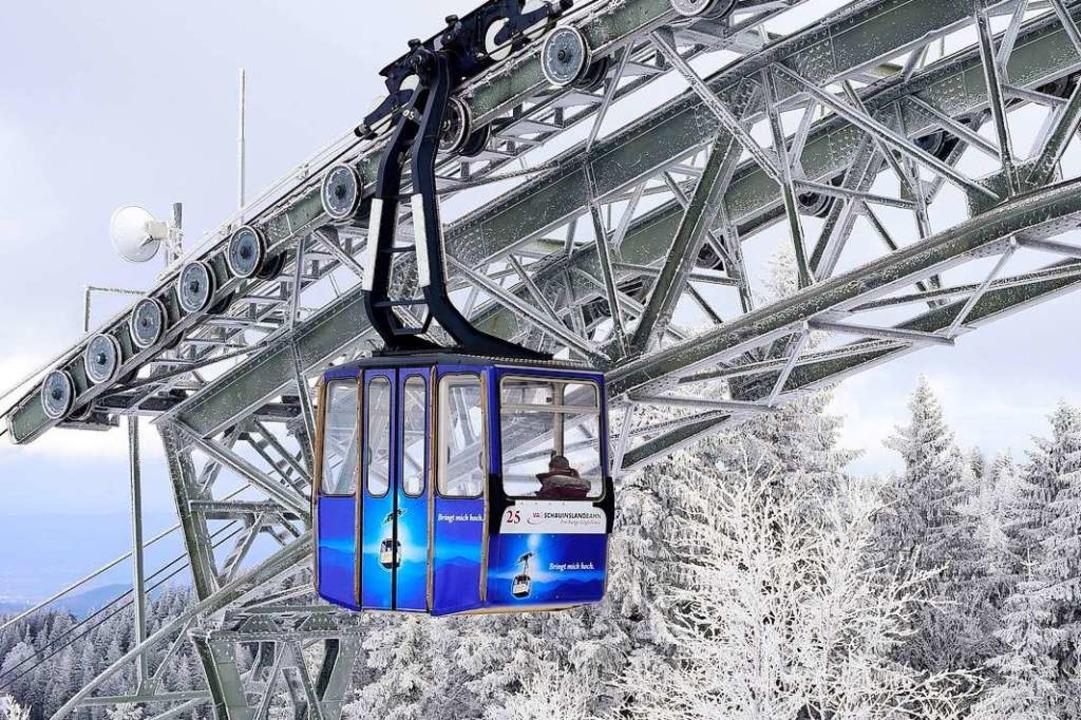 Es geht weiter aufwärts bei der Schauinslandbahn.  | Foto: Thomas Kunz