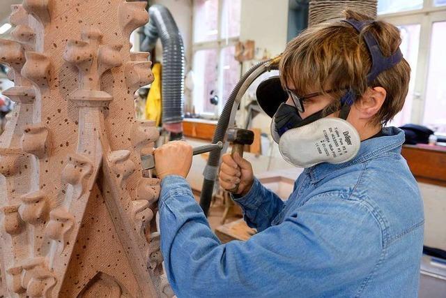Münsterbauhütte bewirbt sich bei der Unesco als
