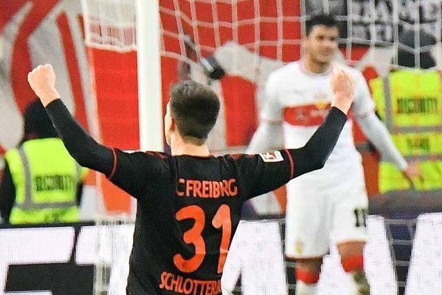 Im Derby zwischen VfB und SC ist ziemlich viel los