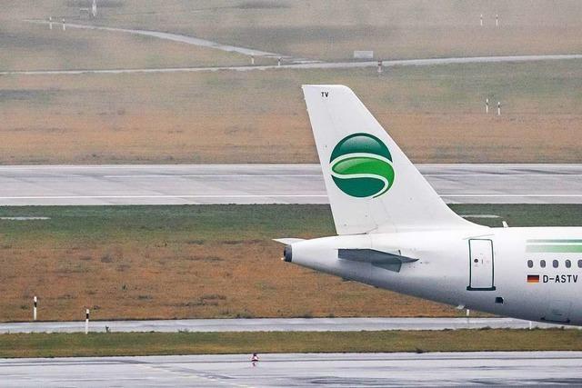 Germania ist pleite - Berliner Airline stellt Flugbetrieb ein