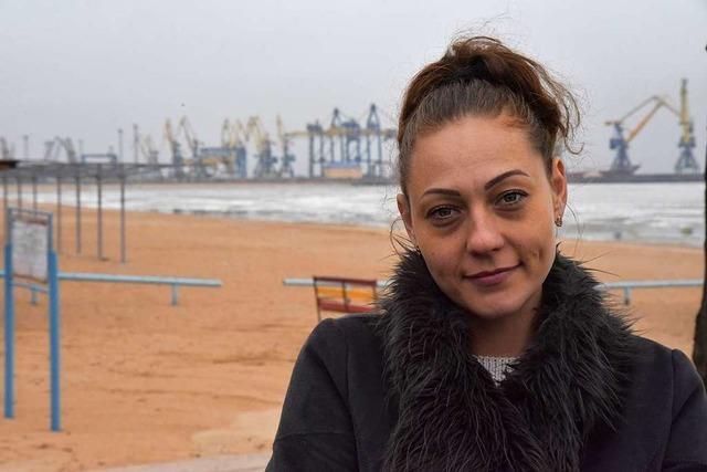 In der Ukraine stirbt der Hafen Mariupol