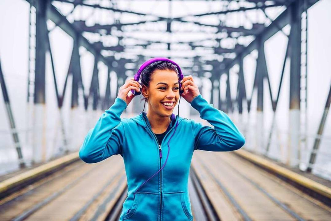 Mit der richtigen Musik macht das Lauftraining doppelt so viel Spaß.  | Foto: Bernard Bodo via AdobeStock