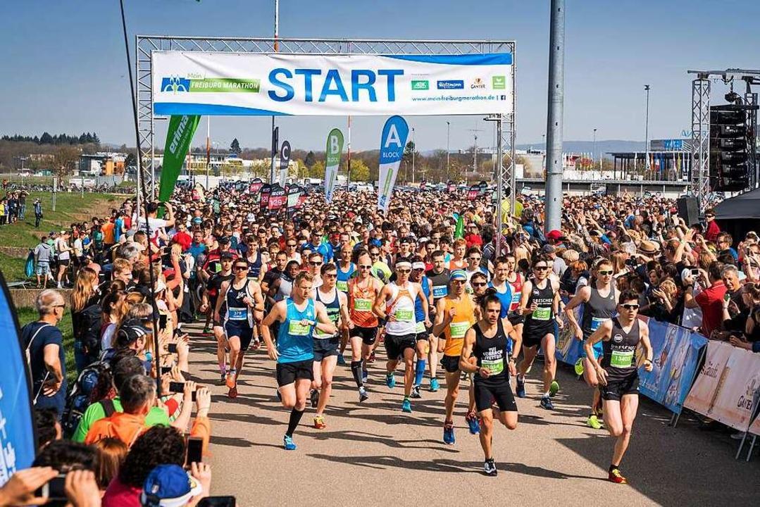 Der Freiburg Marathon ist eines der beliebtesten Highlights im Stadtkalender.  | Foto: Baschi Bender für FWTM