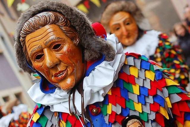 Traditionsreiche Narren zu Besuch in Bad Säckingen