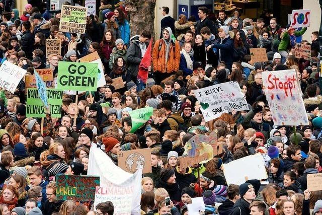 Freiburger Schülerinnen und Schüler wollen am 15. März wieder streiken