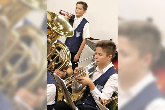 Musikvereine können auf den musikalischen Nachwuchs stolz sein