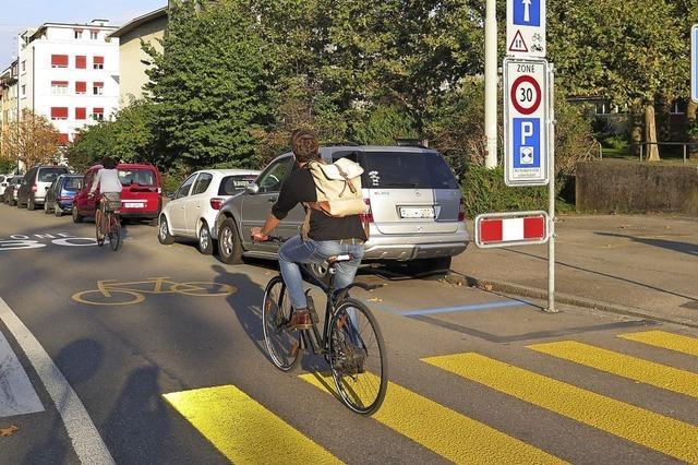 Basel pocht auf Fahrradstraßen